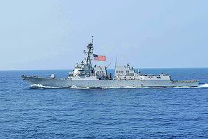 美軍艦今年第四次穿越台灣海峽