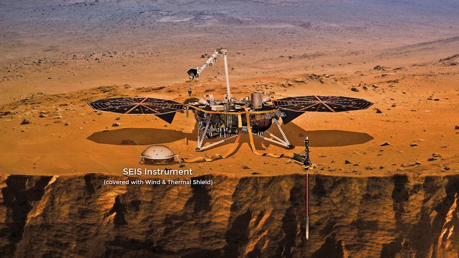 史上首次聽見 洞察號錄到火星地震聲