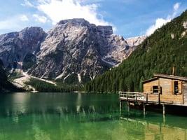 意大利多洛米蒂山脈 令人讚嘆的美景