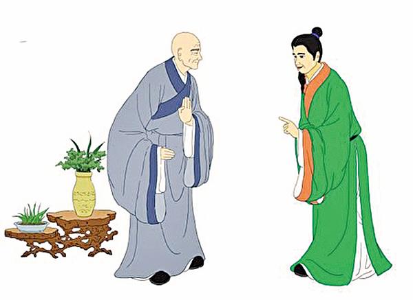 蘇軾與佛印(志清/大紀元)