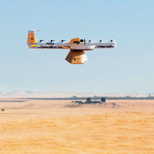 首家獲美國政府許可 Alphabet將開啟無人機送貨服務