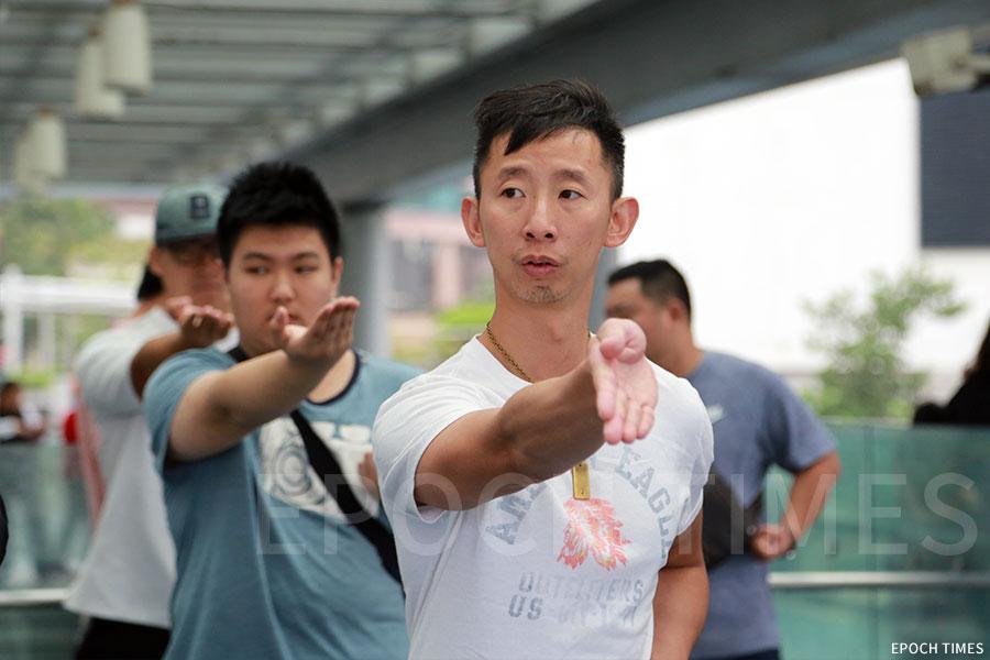 活動希望向年青人推廣傳統文化。(王偉明/大紀元)