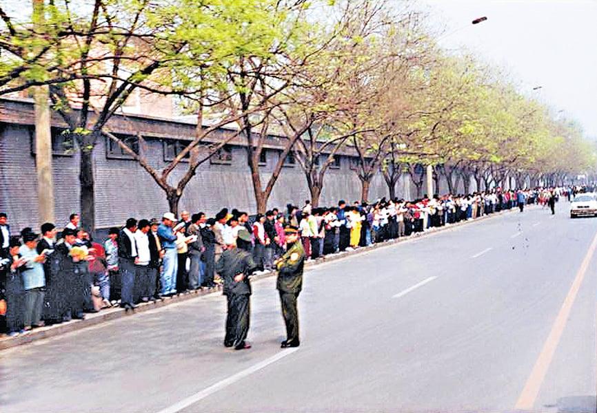 二十年前 北京萬人上訪真相
