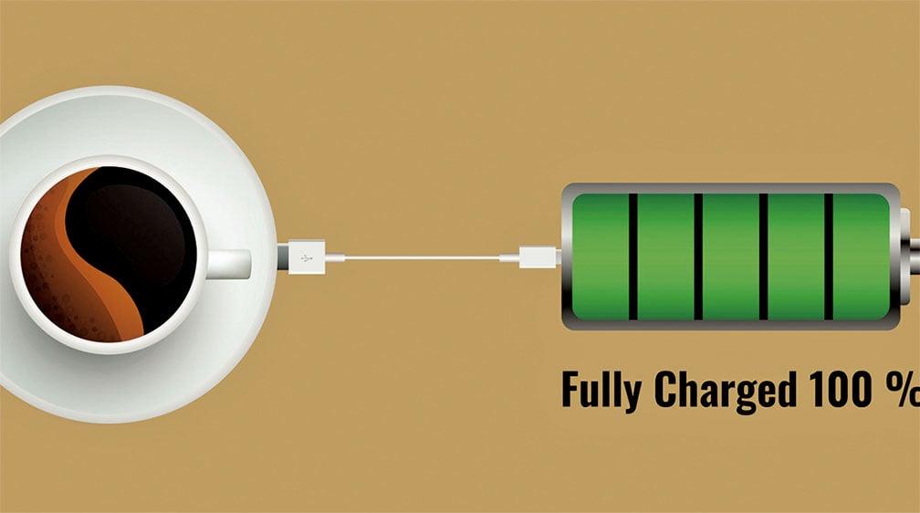 太陽能電池也愛咖啡因 科學家發現續航關鍵