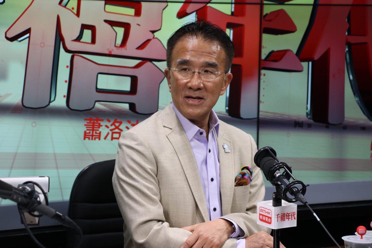 本身是港區全國人大代表的立法會議員田北辰建議撤回引渡修訂草案,改為先單獨處理台灣殺人案。(蔡雯文/大紀元)