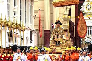 泰王拉瑪十世加冕宣佈特赦