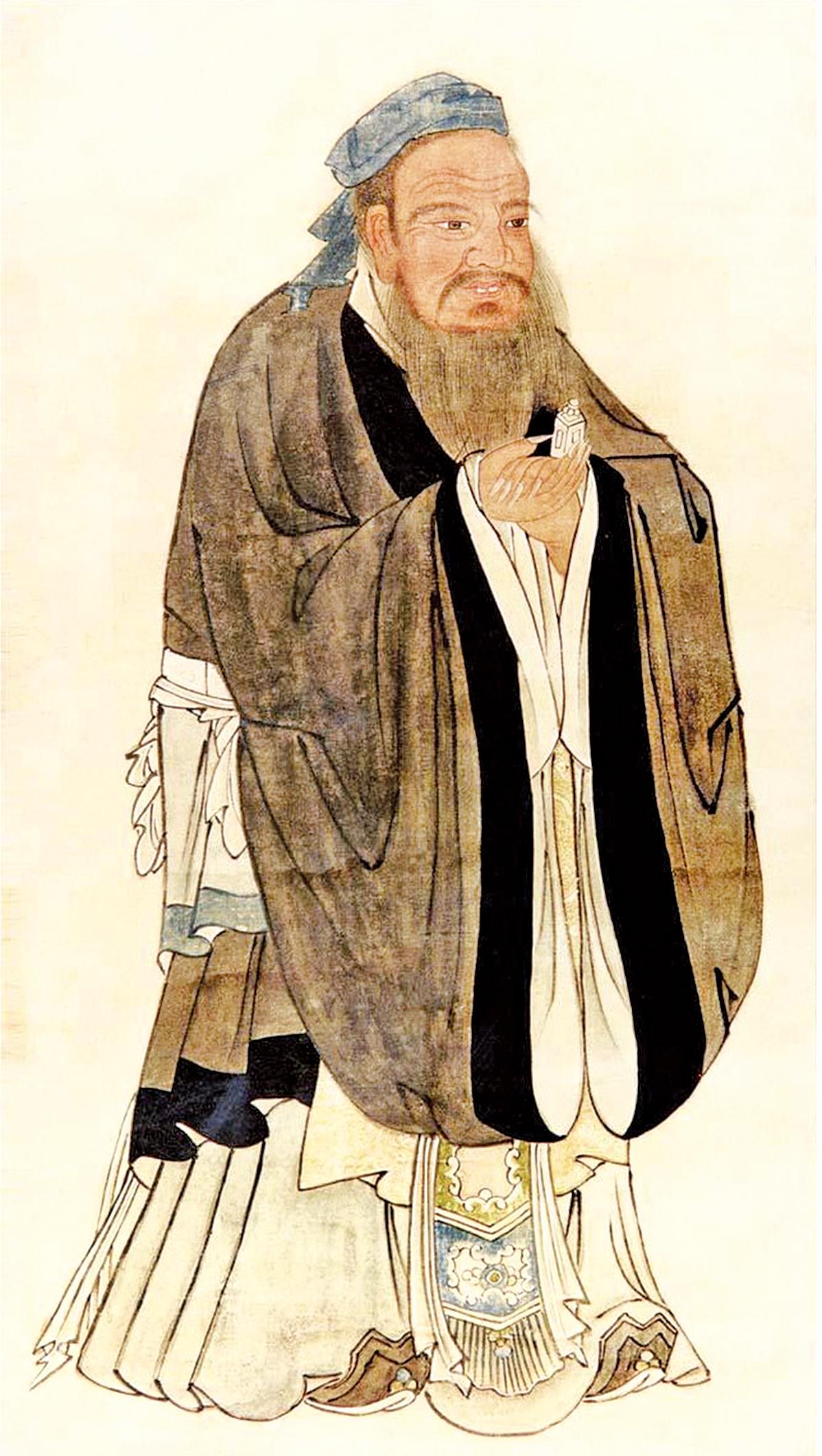 孔子聖蹟圖(公有領域)
