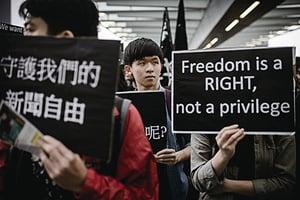 新聞自由日 記者嘆大陸新聞自由已死