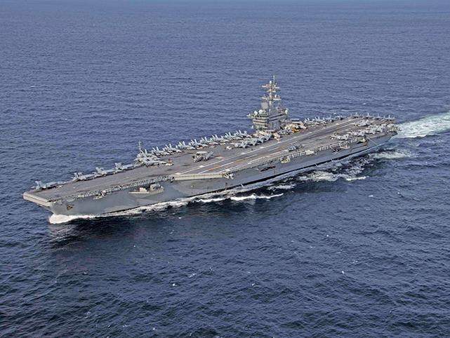 美派航母及轟炸機隊赴中東 回應伊朗挑釁