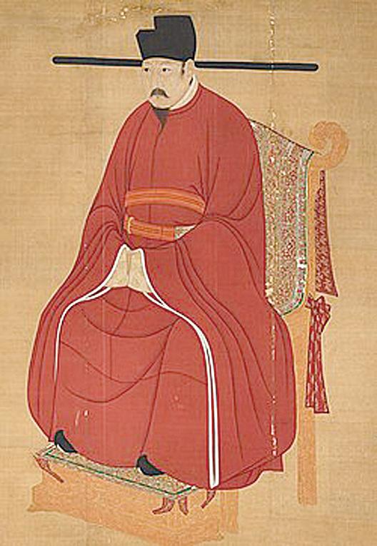 宋仁宗像。(維基百科)