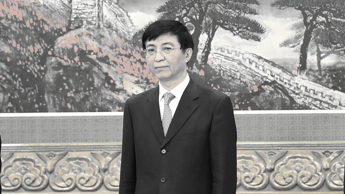 知情者透露,1989年六四後王滬寧曾避居法國3個月,並無支持學運的表態。(Lintao Zhang/Getty Images)