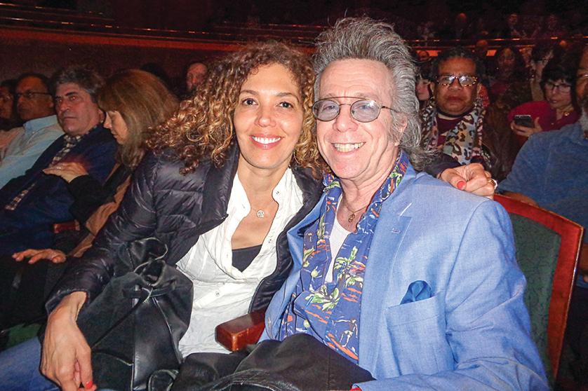 紐約百老匯演員Jeffrey Gurian(右)。(文燁/大紀元)
