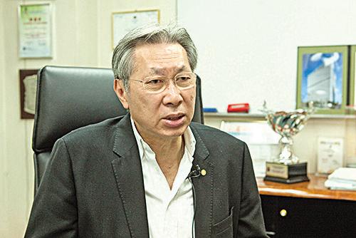 香港中小型企業聯合會永遠榮譽主席劉達邦