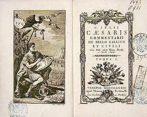 18世紀版《高盧戰記》(公有領域)