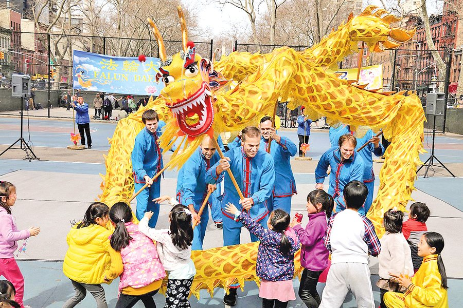 紐約中國城喜迎「春天的慶典」