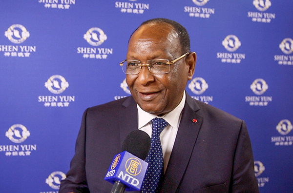 幾內亞著名政治家Lansana Kouyaté(新唐人電視台)