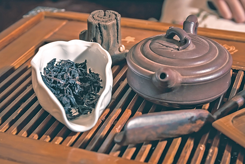 品茶是一種閒適的藝術享受。