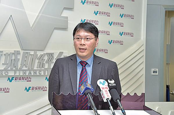 貿易發展局環球市場助理首席經濟師陳永健稱,港商暫時還沒有出現大規模的倒閉潮或遷廠潮。(郭威利/大紀元)