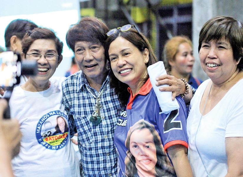 菲中期選舉 六位遺孀代夫出征