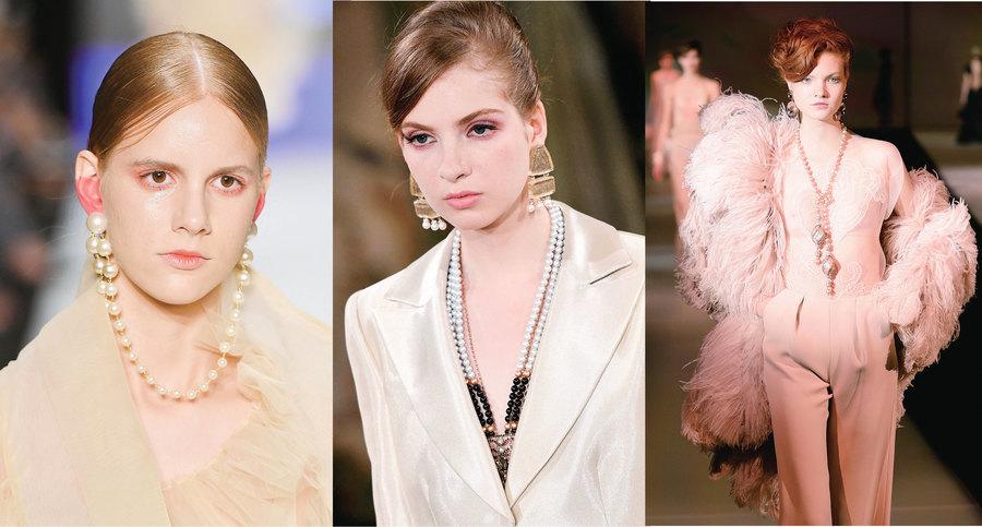 珍珠首飾 不再是老氣的代名詞