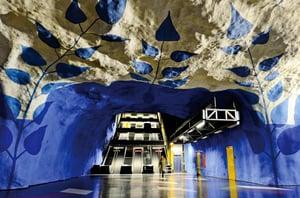 震撼!令人驚艷的地鐵站