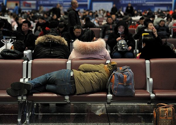 中共綁架中國人民來打貿易戰。(Tao Zhang/Getty Images)