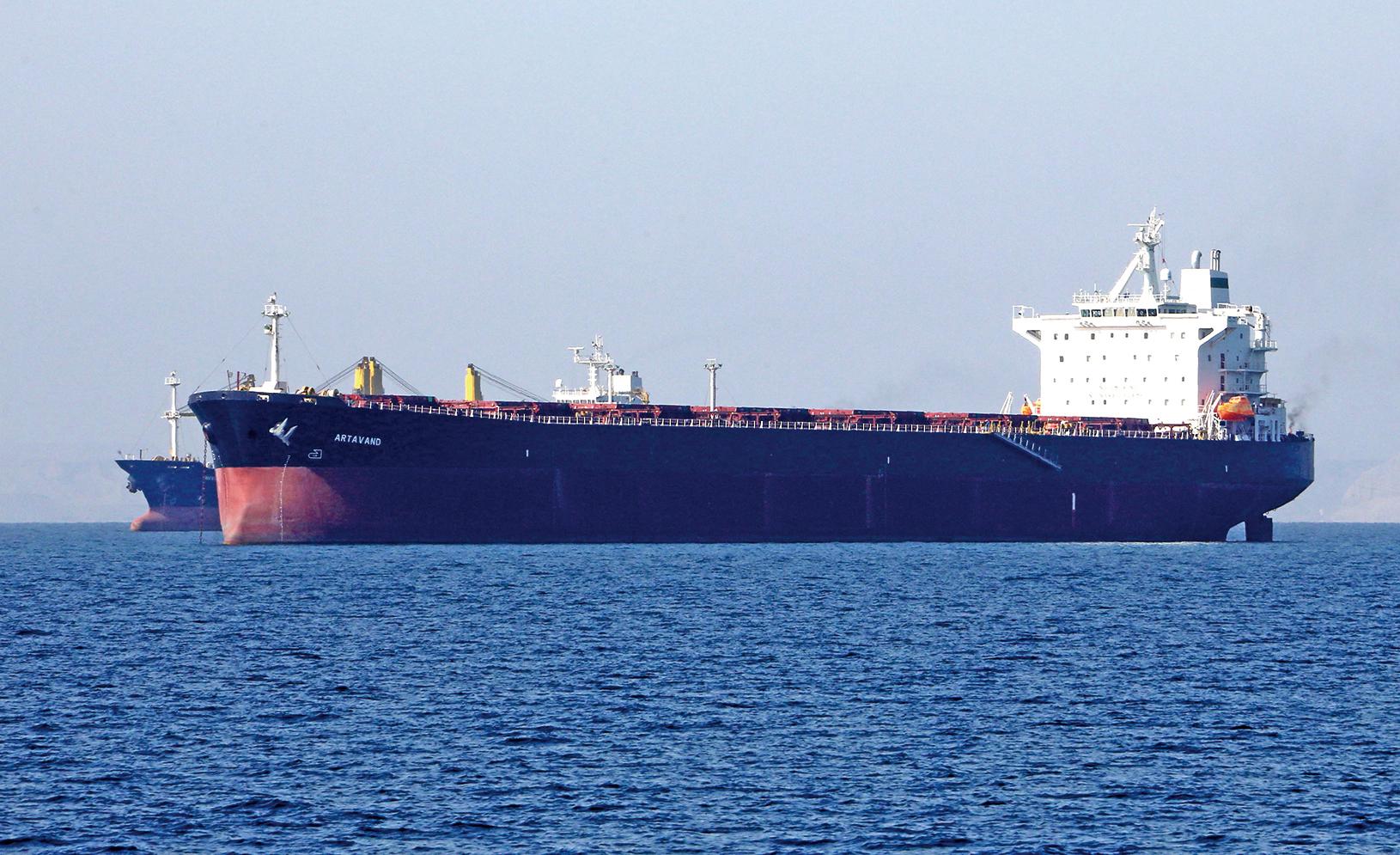 伊朗違反美國制裁令,將燃油偷運往中國。(AFP)