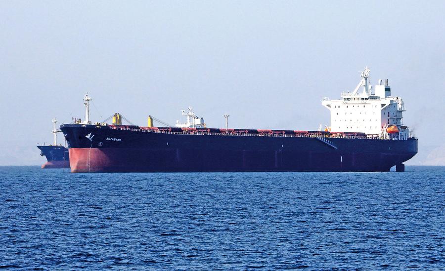 違反制裁令 伊朗偷運原油往中國