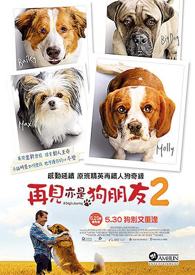《再見亦是狗朋友2》(A Dog's Journey)