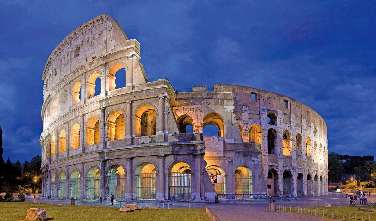 著名的羅馬鬥獸場。(維基百科)