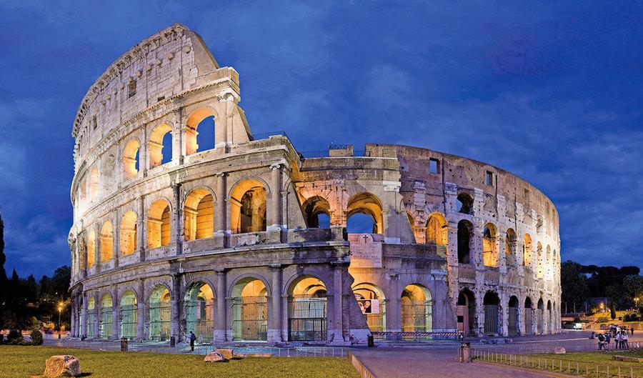 古文明中的現代科技 古羅馬建築用「隱形」原理減震