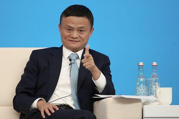 馬雲持有阿里的股份中,僅有0.2%為個人持有,其餘均是通過離岸家族信託、海外慈善基金會、開曼控股公司持有。(Lintao Zhang/Getty Images)
