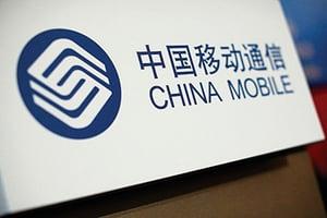 中國移動首季淨利下滑8.3%