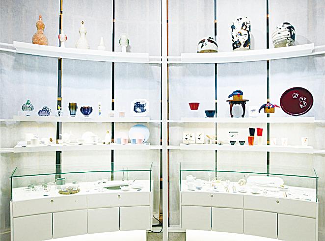 南韓旅遊購物推薦─青瓦台舍廊房 紀念品店