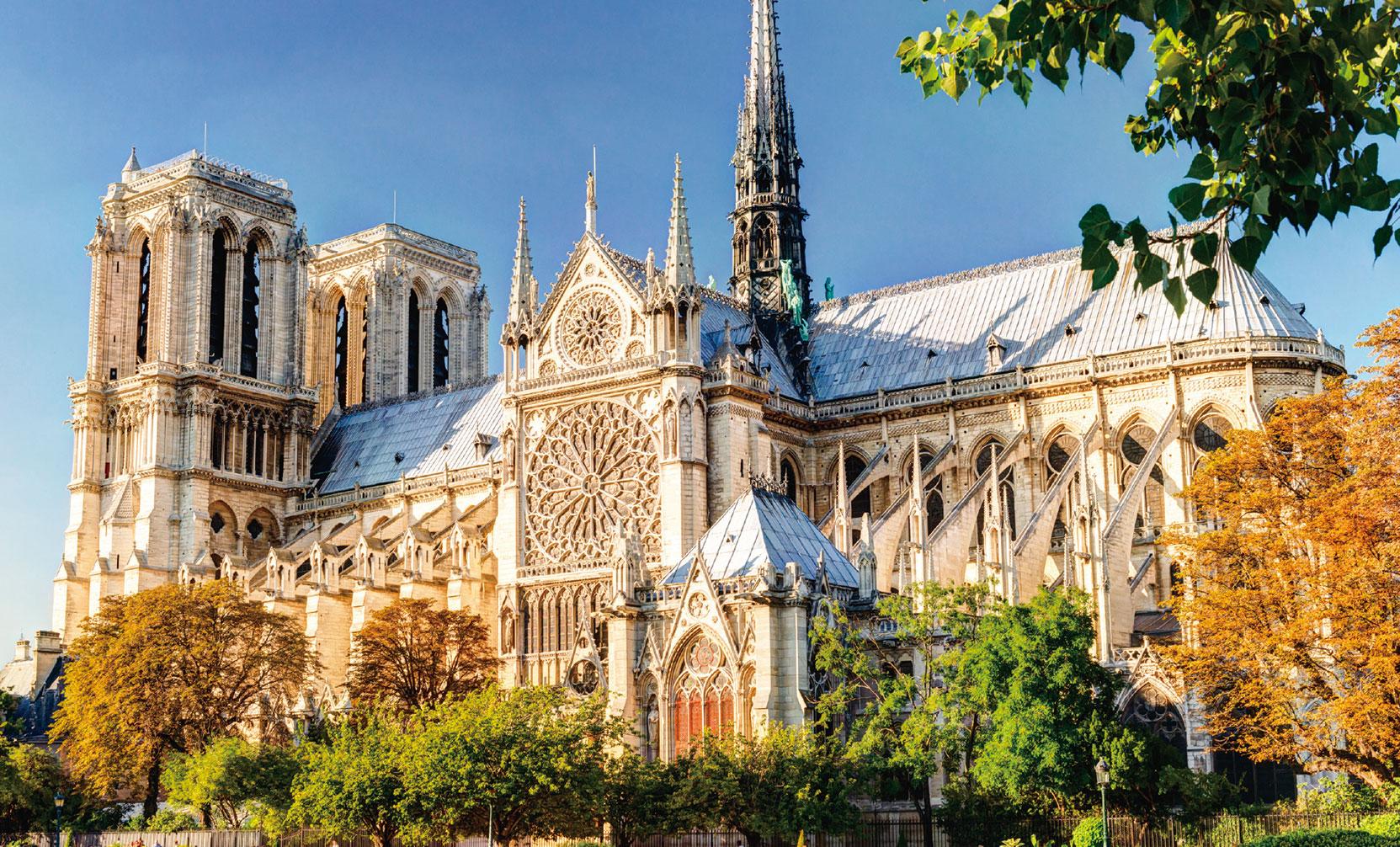 巴黎聖母院。(Viacheslav Lopatin/shutterstock)