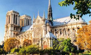 巴黎聖母院建築與雕塑之美 (一)