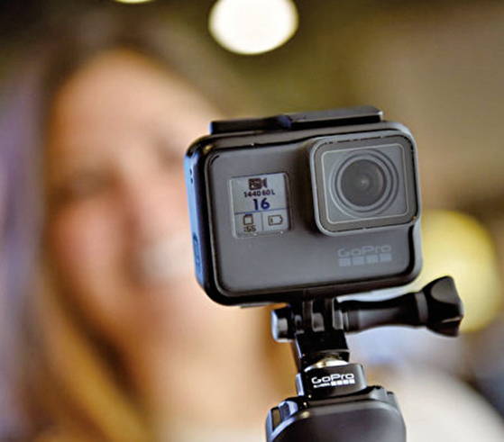 GoPro預計在2019年夏季,將輸往美國市場的產品生產線遷離中國。(Getty Images)
