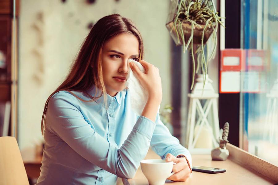 淚溢總是讓眼睛淚汪汪  及早治療避免併發症