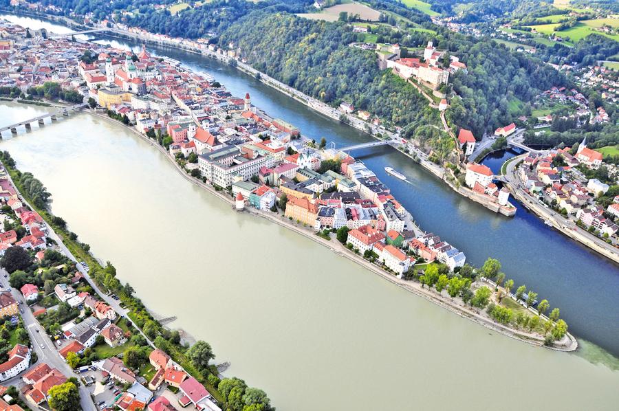 水與火淬煉出的珍寶 德國小城帕紹