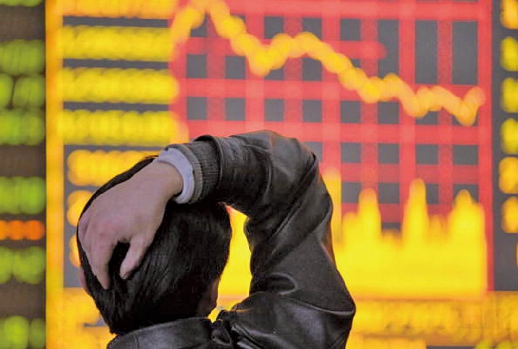陸股市動盪,上市公司高管頻繁換人,股民擔憂。示意圖。(Getty Images)