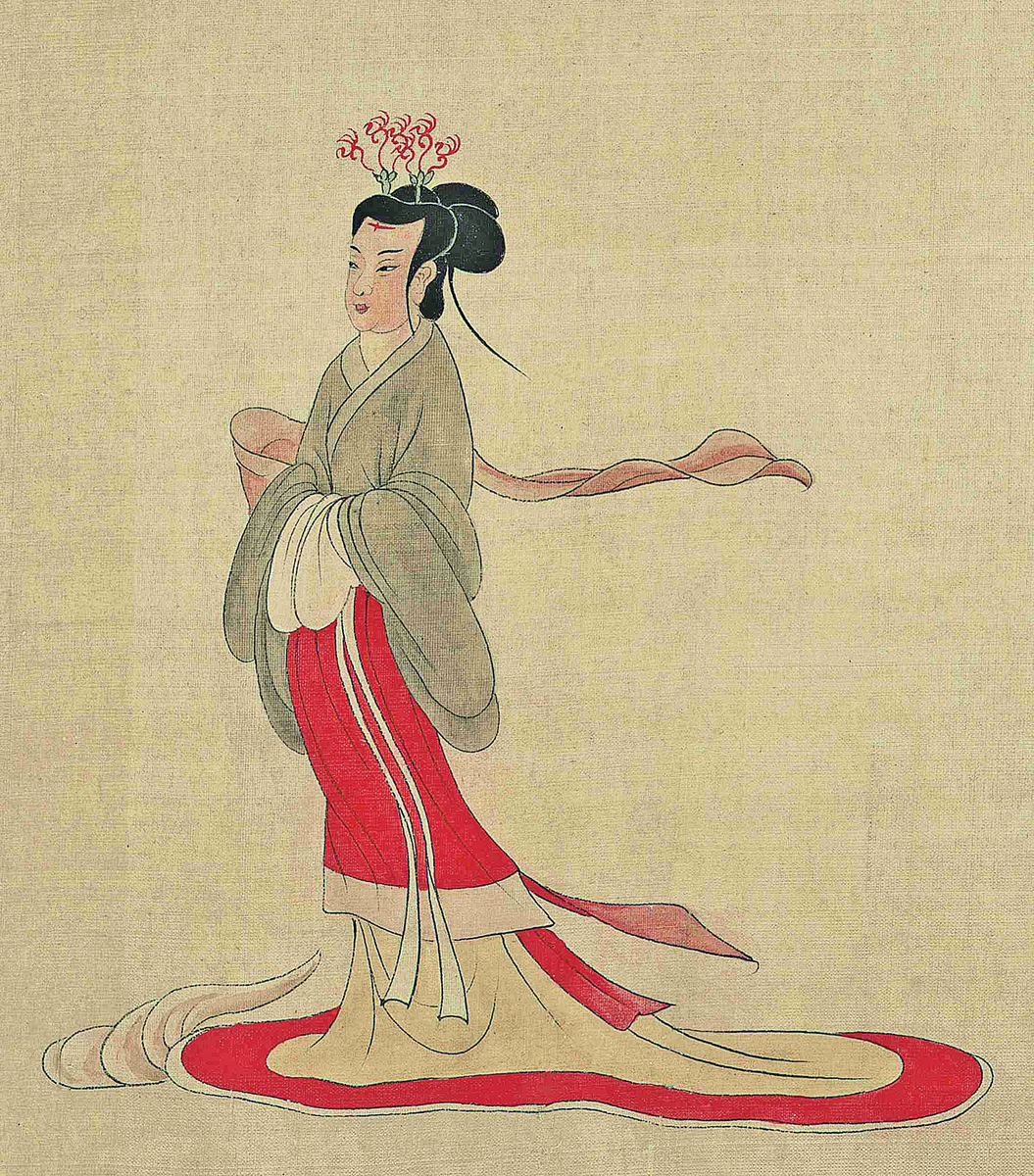 卞夫人的人品、處事都堪稱楷模。是曹操的賢內助。示意圖:於非闇摹《女史箴圖》(局部)。(公有領域)