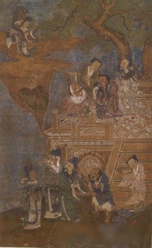 佚名,《八仙圖》,美國巴爾的摩沃爾特斯藝術博物館藏。