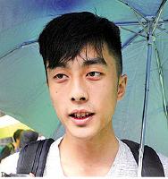 港大學生施先生: 中共不斷侵蝕香港