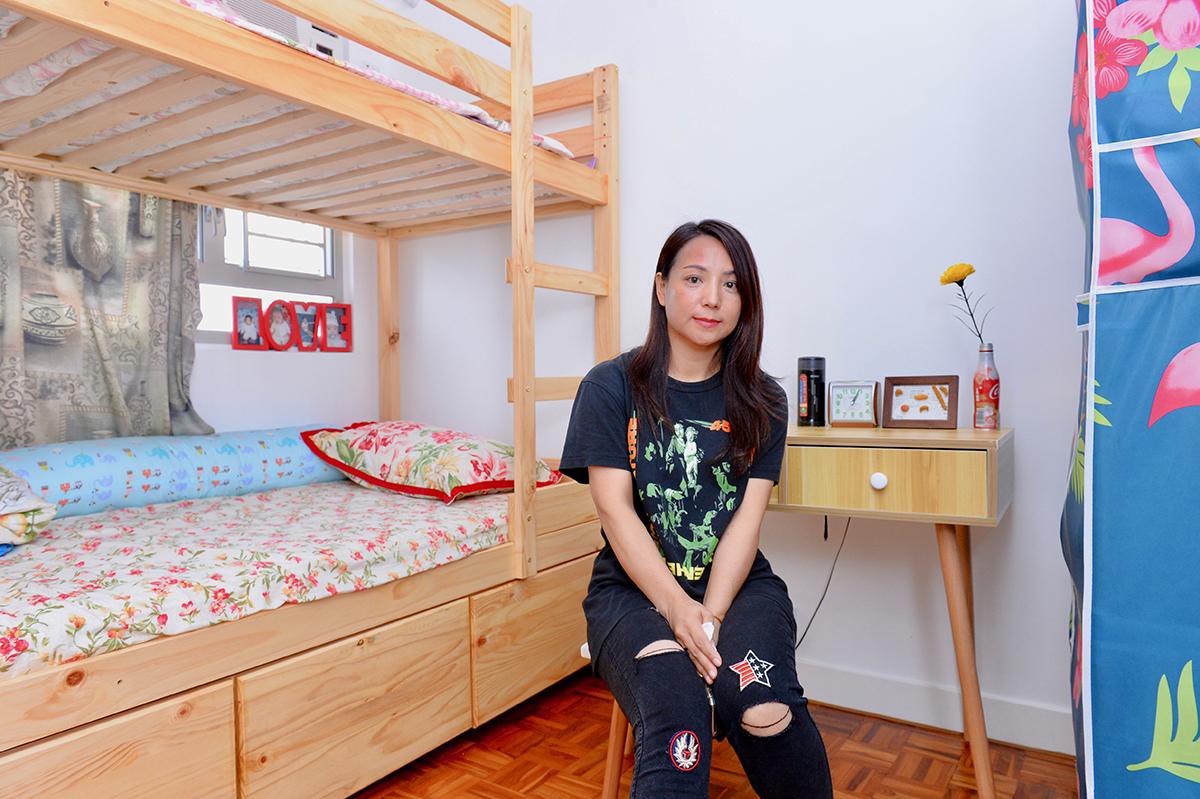 肖女士因生活突變患上抑鬱症,透過「友里同行計劃」入住共享房屋,她認為只要多溝通和包容接納,便可相處融洽。(宋碧龍/大紀元)