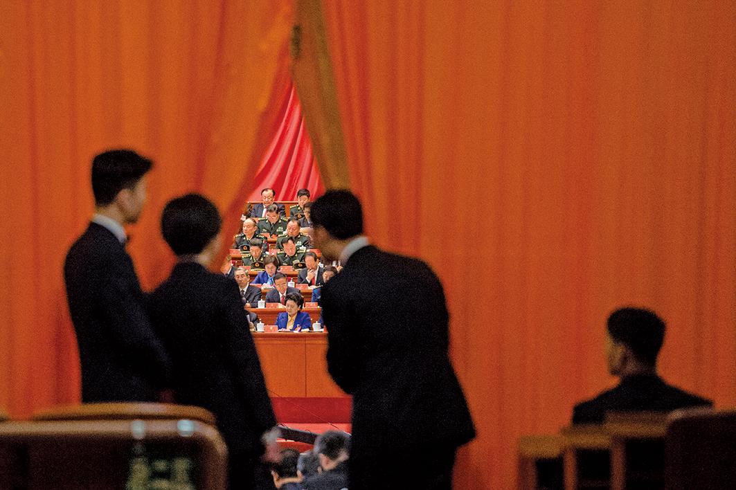 有台灣政治金融專家透露北京消息說,是中共江系常委韓正,在中共政治局常委會上,一手攪黃了中美已經接近達成的貿易協議。示意圖(Getty Images)