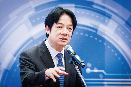 台灣爭取民進黨提名競選總統的前行政院長賴清德。圖為資料照。(陳柏州/大紀元)