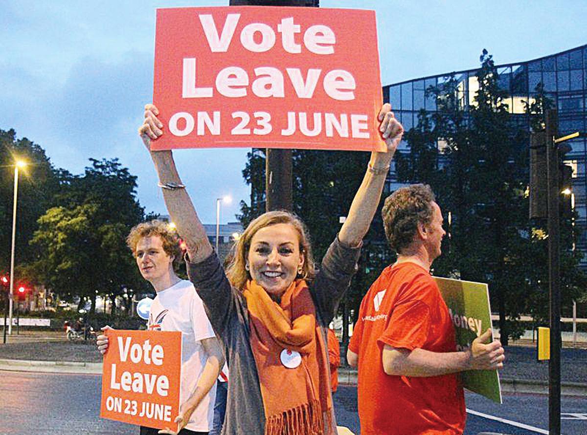 評論人士韓尚笑近日撰文表示,英國公投的意義大於結果,「沒有選擇的自由,生命就失去了意義。」中共曾說「尊重英國人民的選擇」,那中國人民的選擇呢?(中央社)