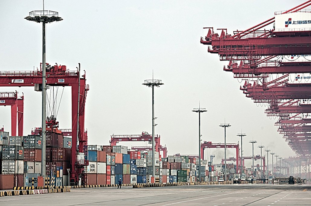 企業普遍反映今年外貿形勢總體上比去年更加嚴峻,困難有加劇的趨勢,短期內出口難以出現明顯提升。(Getty Images)