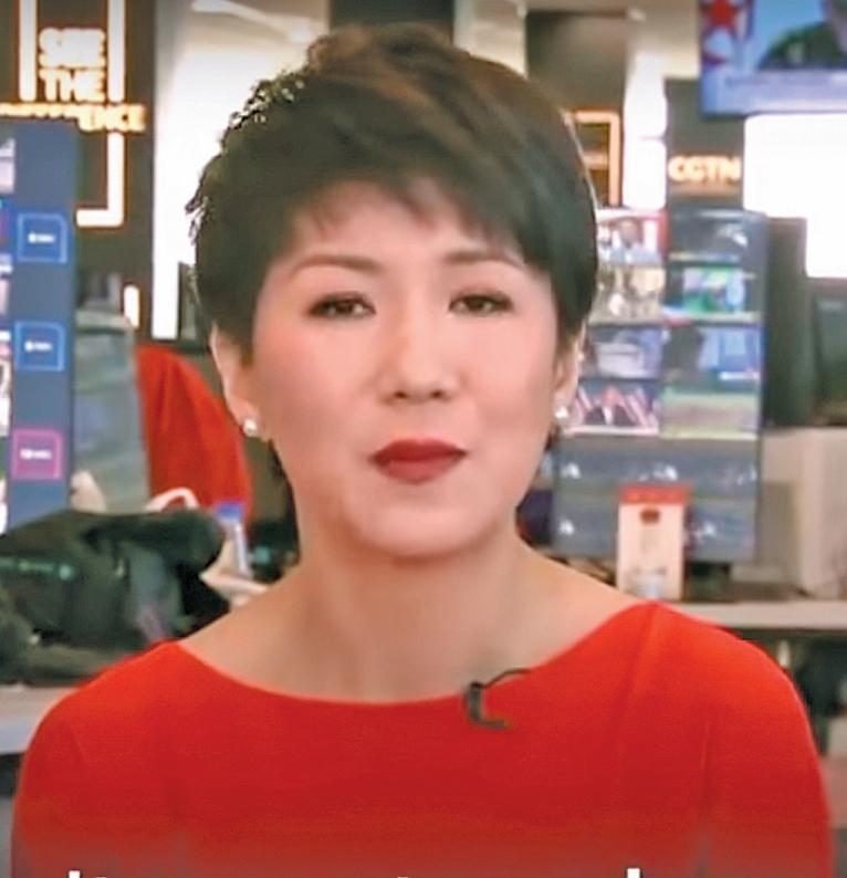 長期任職央視的劉欣曾是「辯論」冠軍。(視頻截圖)