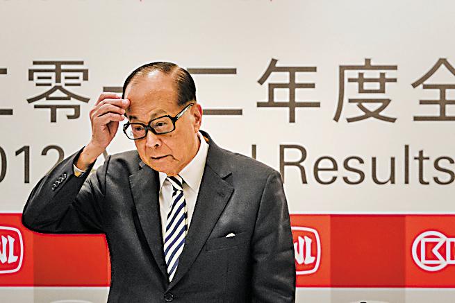 李嘉誠兩天身家縮水百億 大摩:脫歐拖低港GDP